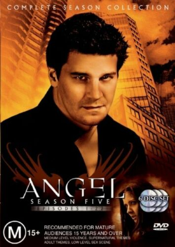 1 of 1 - Angel Series : Complete Season 5 (6 Disc Set) : NEW DVD