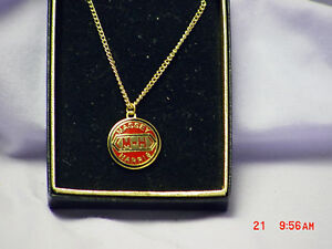 MASSEY HARRIS LOGO NECKLACE, NEW