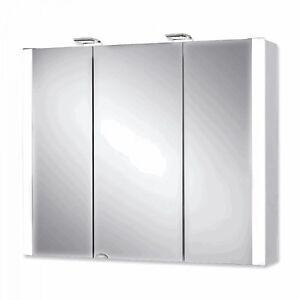 spiegelschrank mit beleuchtung holz, jokey jarvis spiegelschrank 80cm 3-türig mdf holz led beleuchtung, Innenarchitektur