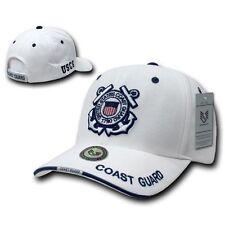 White United States US Coast Guard USA Adjustable Baseball Cap Caps Hat Hats