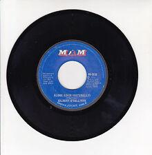 "Gilbert O'SULLIVAN Vinyl 45T 7"" ALONE AGAIN - SAVE IT - MAM 3619 F Rèduit RARE"