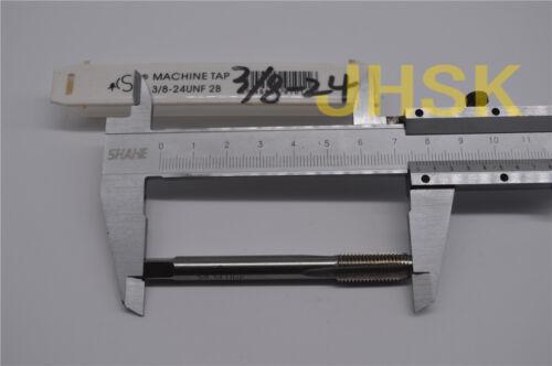 S 1pcs 3//8-24UNF HSS TAP TAPS Right helix Inch MACHINE TAP 3//8-24  US TAP