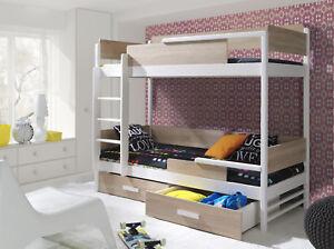 Etagenbett Unten Doppelbett : Etagenbett hochbett kinderbett doppelbett lilli cm