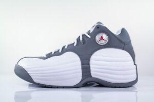 separation shoes eccc2 7af3d Details about Nike Air Jordan Jumpman Team 1 Retro White Grey Size 12.  644938-105