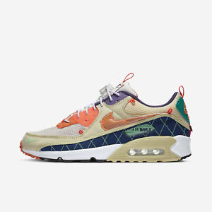 Details about Nike Air Max 90 [CZ9078-784] Men Casual Shoes Trail Vibes Team Gold/Orange