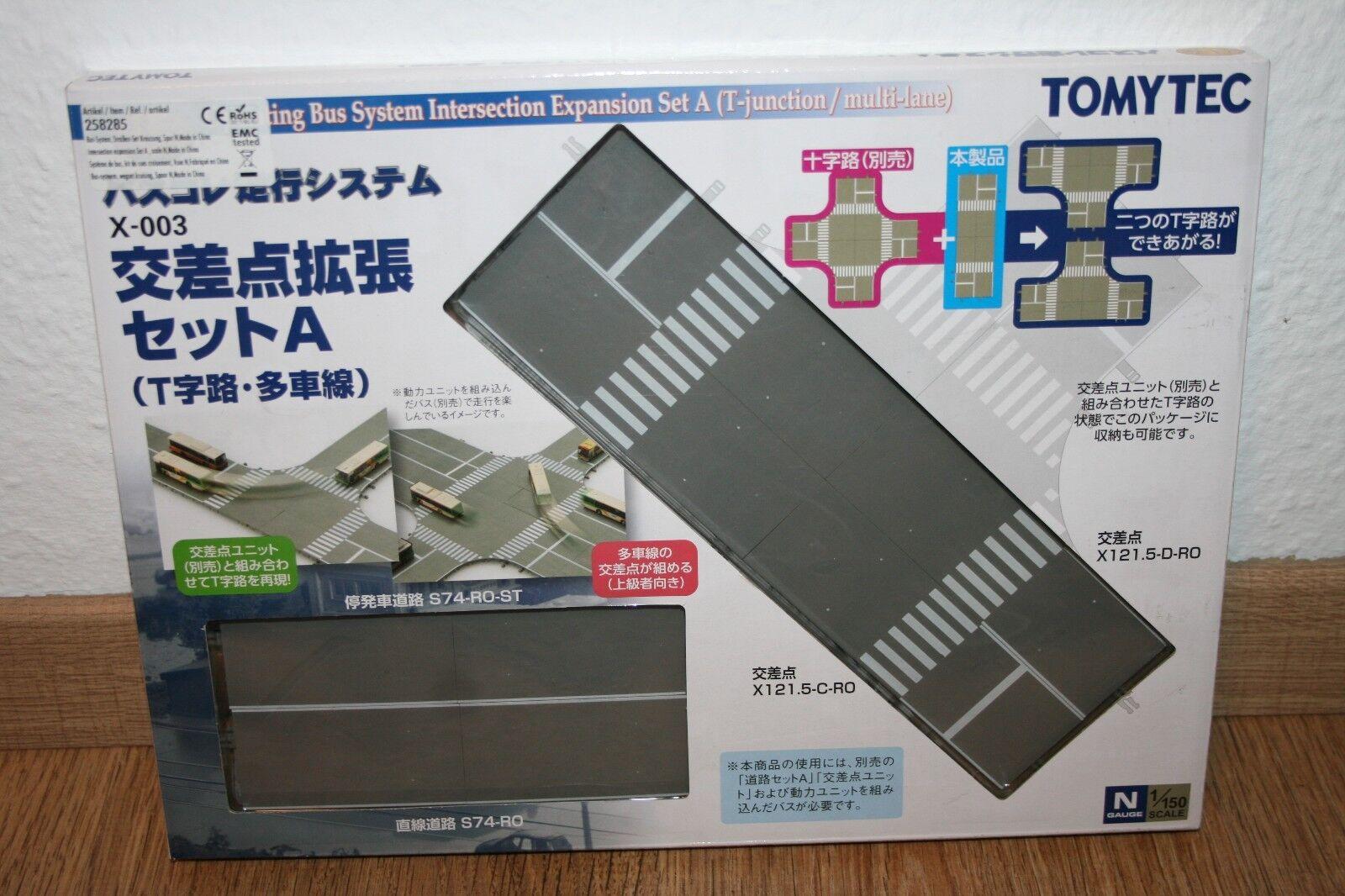 Tomytec x-003  975828  Bus-System, estensione per kreuzungsset/Nuovo/Scatola Originale