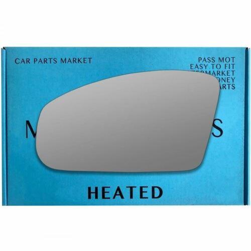 Para Nissan 350Z 2002-2009 cristal espejo de ala izquierda del lado del pasajero eléctrico