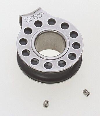 """Fiddle Ball Bearing Composite Block w//Cam Cleat /& Becket Viadana 57mm 2 1//4/"""""""