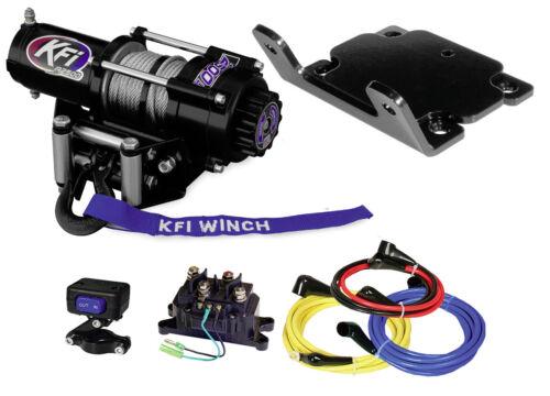 2007-2014 Yamaha Grizzly /& Kodiak 350//400 KFI A2500R2 Winch /& Mount Kit