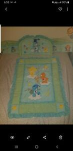 Baby Crib Bedding Set 80s Quilt