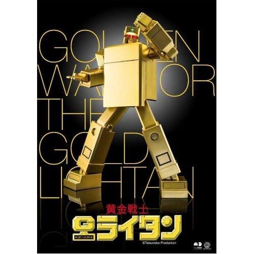 BU TOYS X M3 55TH OF SON OF DRAGON GOLDEN KRIEGER GOLD LIGHTAN NEU NEW