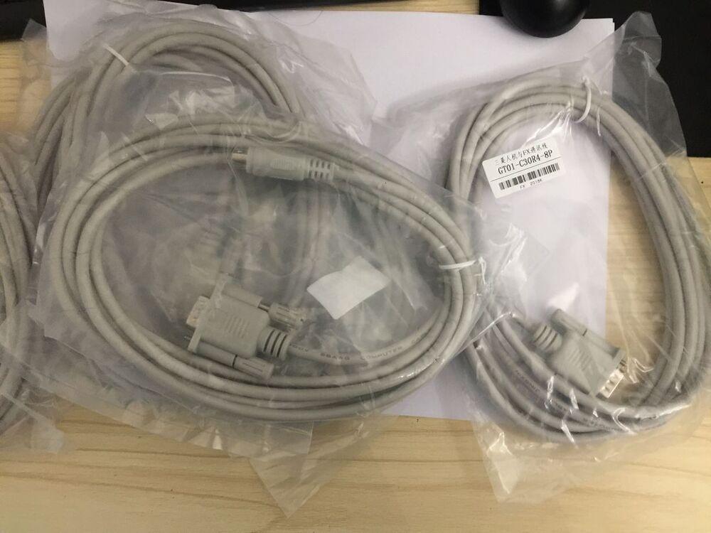 GT01-C30R4-8P 1PCS NEW Mitsubishi PLC programming cable free ship