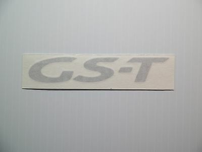 new 1995 1999 mitsubishi eclipse gs t rear badge decal gst dsm 4g63t spyder ebay new 1995 1999 mitsubishi eclipse gs t rear badge decal gst dsm 4g63t spyder ebay