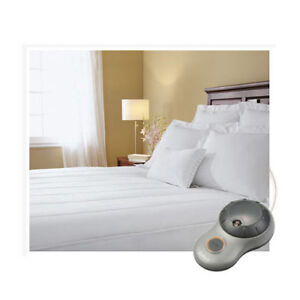 Sunbeam-Quilted-Striped-Heated-Electric-Mattress-Pad-Twin-Full-Queen-King-C-King
