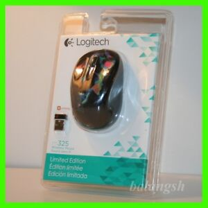 PRICE IS FOR ONE MOUSE ,,, NIB Logitech M325 Wireless Optical Mouse Black