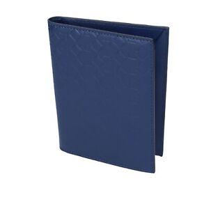 porta passaporto uomo donna ALV by ALVIERO MARTINI blu pelle BN144-S