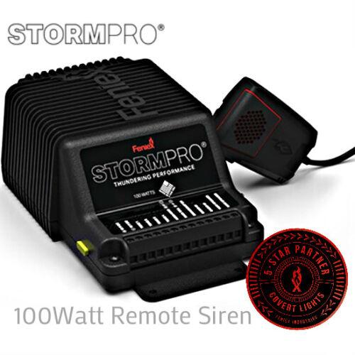 Feniex Storm Pro 100 Watt Remote Siren DL