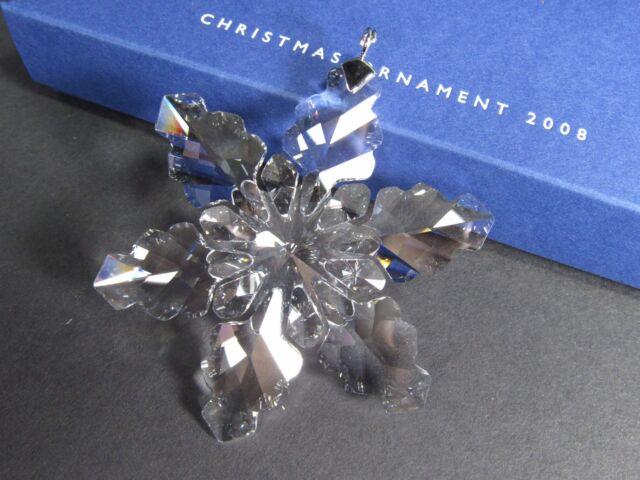 SWAROVSKI ANNUAL EDITION CHRISTMAS ORNAMENT 2008 MIB #942045 - Swarovski Large Annual Edition Christmas Ornament 2008 MIB #942045