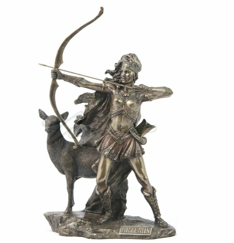 Artemis - - - The Goddess Of Hunting And Wilderness Statue Figurine Sculpture 0e47be