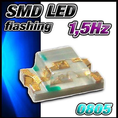 A138B# Flashing LED SMD 0805 blue - blinking LED blau