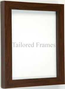 Walnut-photo-picture-frames-square-design-to-Stand-or-Hang-all-sizes-available