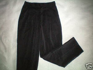 New Nwt Womens Black Jaclyn Smith Dress Pants Size 4 6 Pleated Free Shipping Ebay