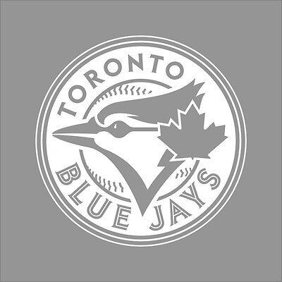 Toronto Blue Jays #3 MLB Team Logo 1 Color Vinyl Decal Sticker Car Window Wall