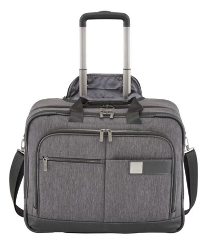 Titan Power Pack businesswheeler trolley Mallette mixed grey Gris noir NEUF