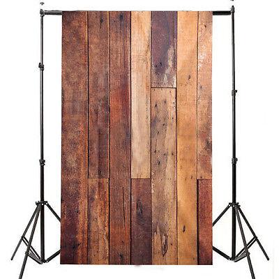 Photography Wooden Wall Background Studio Prop Photo Backdrop 3x5FT Vinyl LGC22