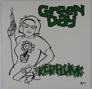 Billie-Joe-Armstrong-Green-Day-Beckett-Signed-Autograph-Record-Vinyl-Kerplunk