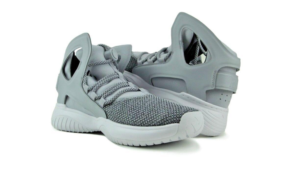 Nike huarache ultra - männer - flug 880856-002 wolf grauen größe 10,5 (28.5cm)