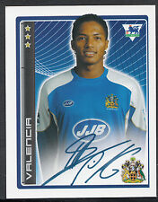 Merlin Football Sticker - 2007 Premier League - No 515 - Wigan - Valencia
