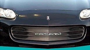 1993-2002 Camaro Front Inserts Letters--STAINLESS STEEL