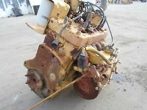 Details about Continental F400A 4 Cylinder Gasoline Engine from Caterpillar  V50 Forklift