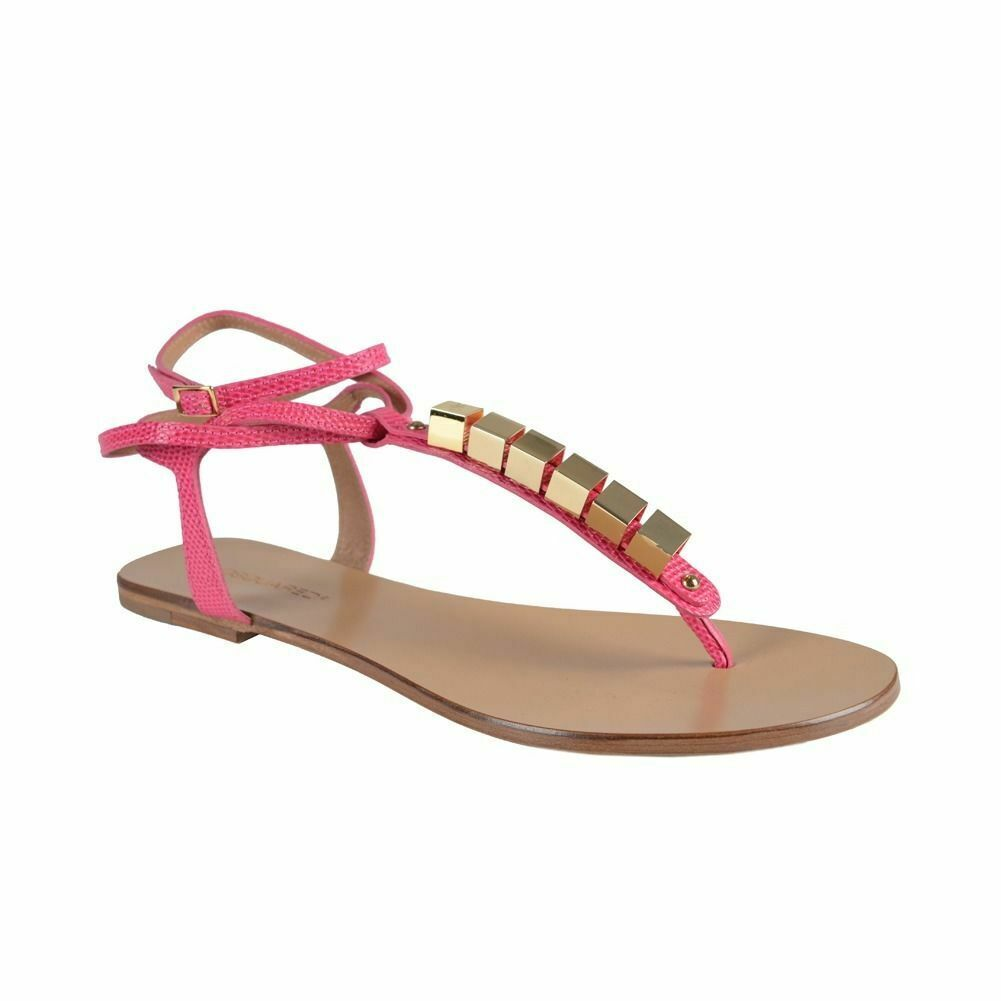 Dsquared Women's Pink Wrap Around Ankle Sandals shoes Sz 6 7 8 9 10 11