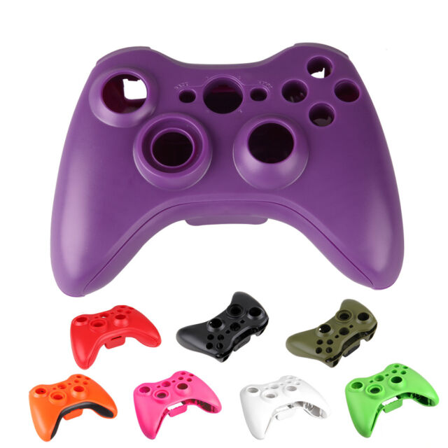 New Set Full Shell Cover Case + Buttons for Xbox 360 Wireless Controller