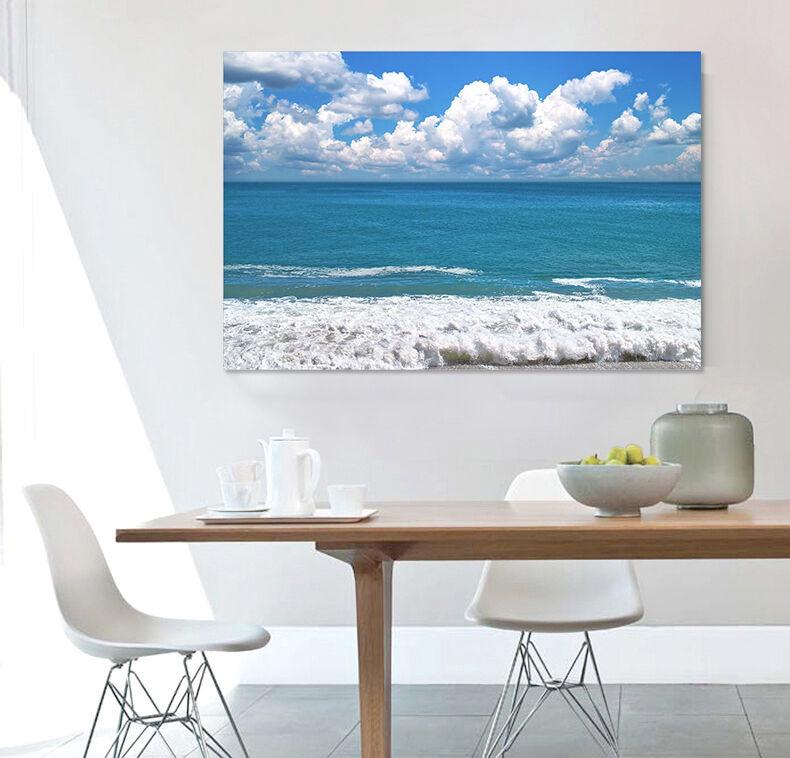 3D Wolken, Meer 24 Fototapeten Wandbild Fototapete BildTapete Familie AJSTORE DE