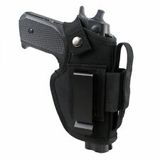 Tactical Right Left Hand IWB OWB Gun Holster Concealed Carry with Magazine Slot