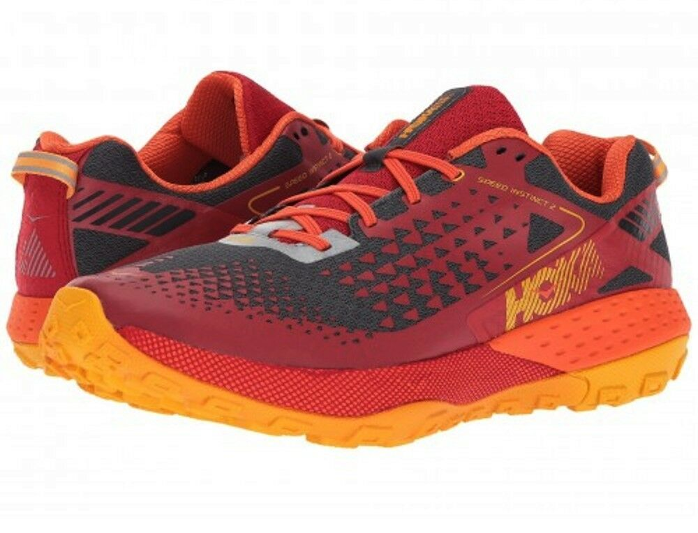 the best attitude 4a1be 3abd6 NEW MENS HOKA ONE ONE SPEED INSTRINCT 2 RUNNING SHOES - 9 - 3 AUTHENTIC
