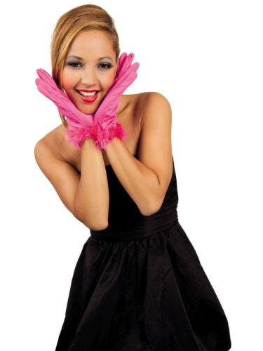 Handschuhe Handgelenk Cannes kurz mit Marabu