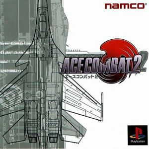 Used-PS-ONE-Ace-Combat-2-Namco-PS-1-SONY-PLAYSTATION-JAPAN-IMPORT