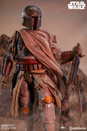 "Sideshow Star Wars Mythos Collection BOBA FETT 1//6 scale 12/"" Figure EN STOCK"
