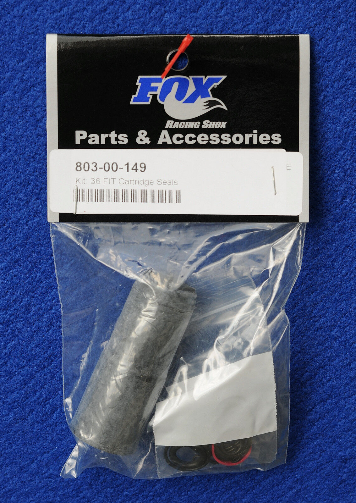 Fox 803-00-546 Cartridge Rebuild Seal Kit 120mm Terralogic 32mm #10b
