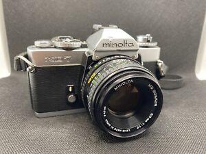 Minolta XD-7 Rokkor 50mm f1.7 mit Zubehör