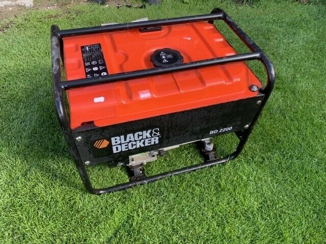 Benzin nødstrømsgenerator, Black & Decker