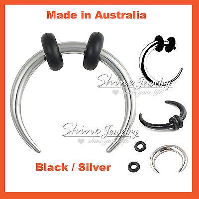 8mm 10mm 12mm Buffalo Pincher Awl Horseshoe Septum Ear Ring Piercing Earing Bar