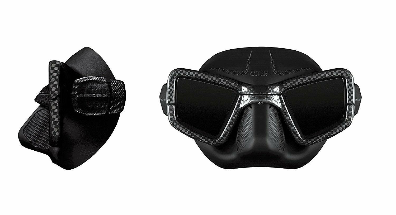 UP-M1C Carbon Mask with Nose Clip
