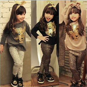 Toddler-Baby-Girls-Tiger-Print-Long-Sleeve-Tops-Leopard-Pants-Outfit-Clothes-Set