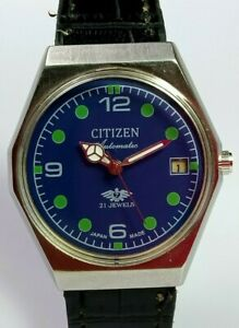 Vintage-Citizen-Automatic-Movement-Mens-Analog-Date-Dial-Wrist-Watch-C198