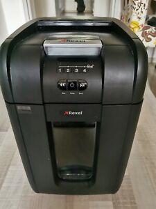 300X Aktenvernichter Shredder Partikelschnitt Autofeed 40 schwarz Rexel Auto